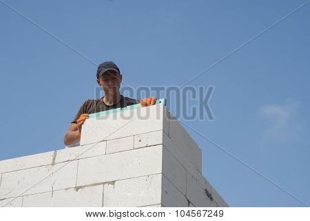 Wall Of Aerated Concrete