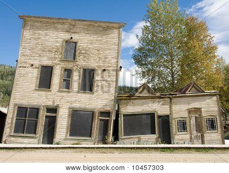 Slanted Heritage Buildings