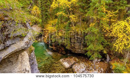 Maligne Canyon in Jasper National Park