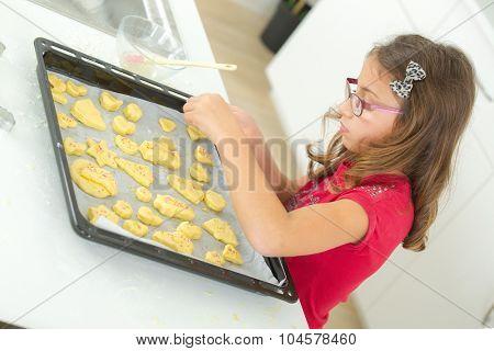 Family bake day