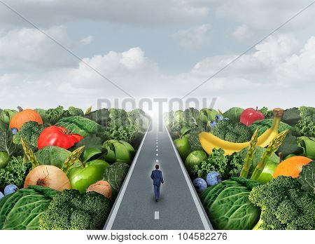 Eating Healthy Path