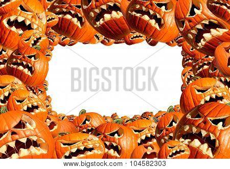 Halloween Horizontal Frame