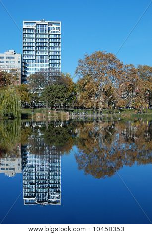 Reflexions in Central Park