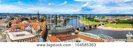 Panoramic View Of Dresden