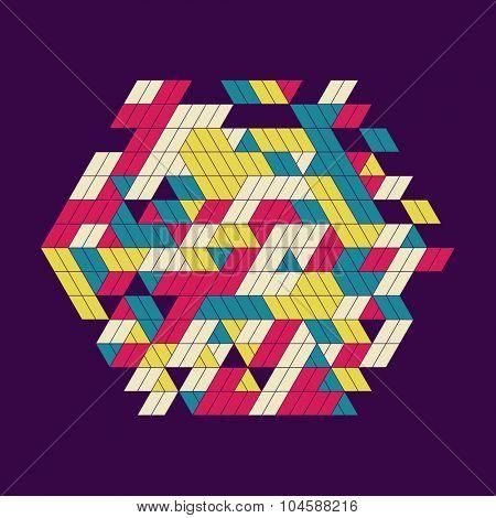 Abstract Vector Illustration.