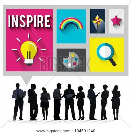 Inspire Inspiration Creative Vision Hopeful Concept