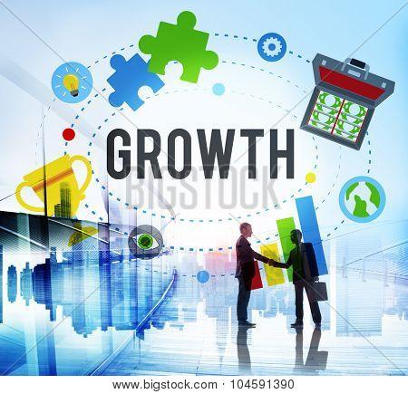 Growth Grow Success Development Improvement Concept