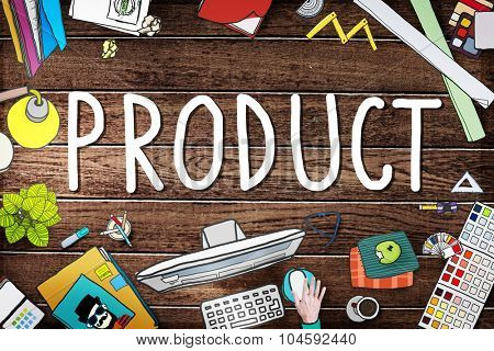 Product Branding Commercial Marketing Concept