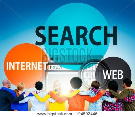 Search Searching Internet Web Connection Concept