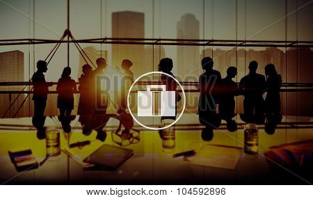 Briefcase Luggage Bag Business Working Concept