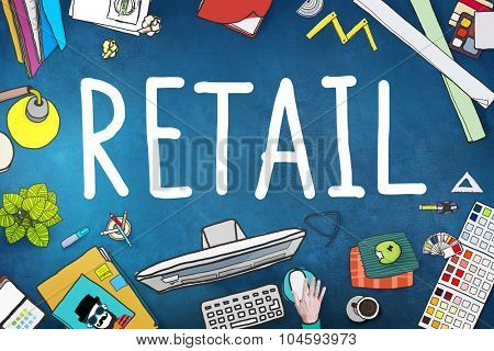 Retail Market Price Consumer Buying Concept