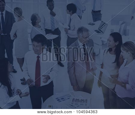 Business People Meeting Brainstorming Consultant Concept