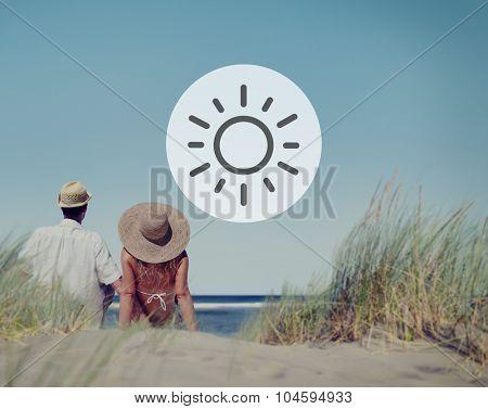 Sunshine Sunlight Sunny Summer Spring Vacation Concept