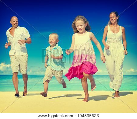 Family Vacation Holiday Leisure Summer Travel Concept