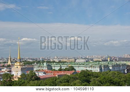Views Of St. Petersburg From Observation Deck