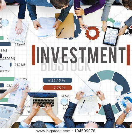 Investment Financial Money Accounting Economy Concept