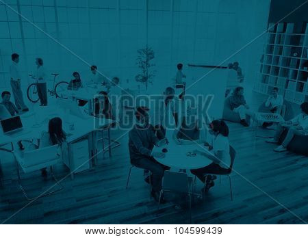 Business People Meeting Discussion Business Planning Concept