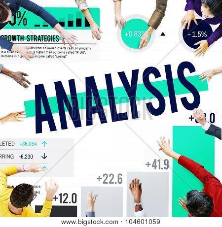 Analysis Planning Business Teamwork Data Corporate Concept