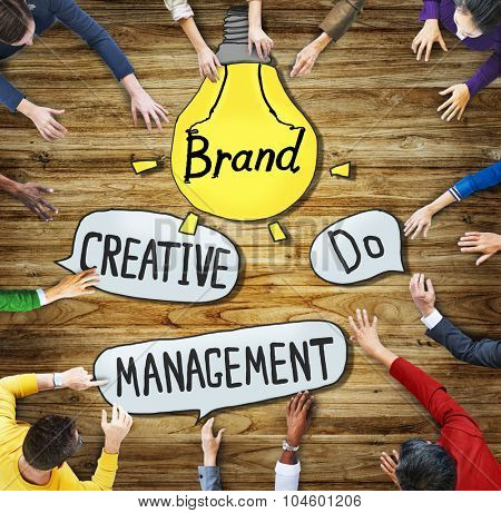 People Creativity Management Brand Marketing Inspiration Motivation Concepts