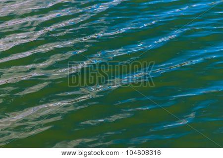 Green blue water texture