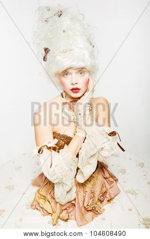 Venetian Princess. Masquerade Ball.