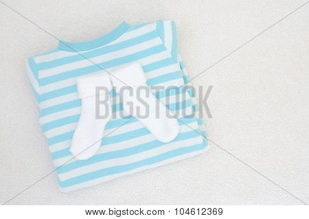 Baby Newborn Clothes - Studio Shot From Above