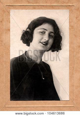 Portrait Beautiful Armenian Girl