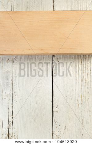 wooden board on wood background