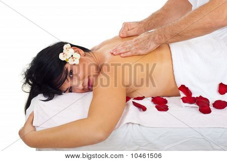 Soft And Deep Massage