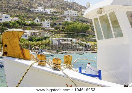 Ornos Beach, Mykonos, Greece