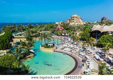 The Aquaventure Waterpark Of Atlantis