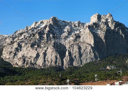 View Of Mount Ai-petri