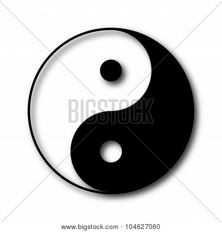 Yin And Yang Symbol, Vector