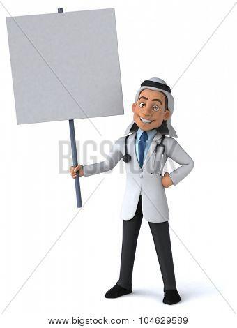 Arab doctor