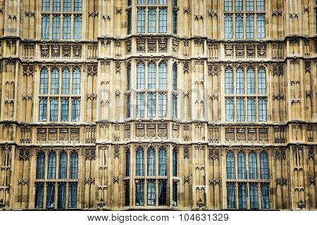Close Up Of Westminster Palace