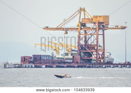 Port Of Labuan FT ,Hot Briquetted Iron (HBI) production process port.