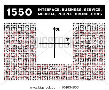 Axis Icon and More Interface, Business, Tools, People, Medical, Awards Flat Vector Icons