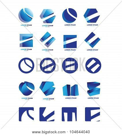 Company Logo Icon Set
