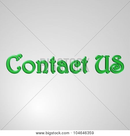 3D Text Contact Us
