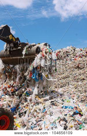 Plastic Waste - Stock Image