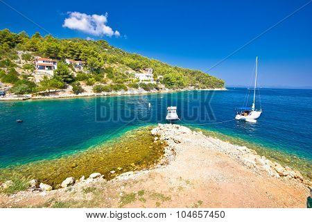 Island Of Dugi Otok Coastline