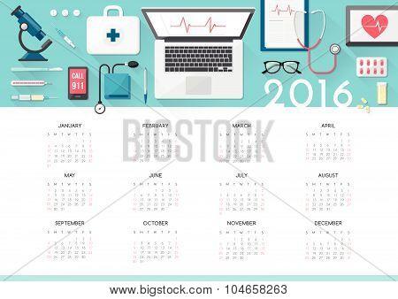 Healthcare Calendar 2016