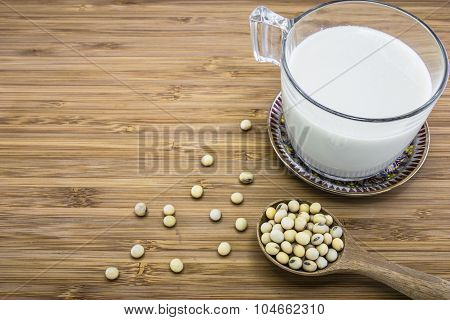 Soymilk From Soybeans