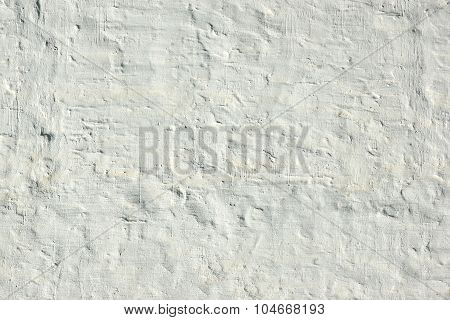 Whitewashed Old Brick Wall Uneven Bumpy Rough Rustic Background