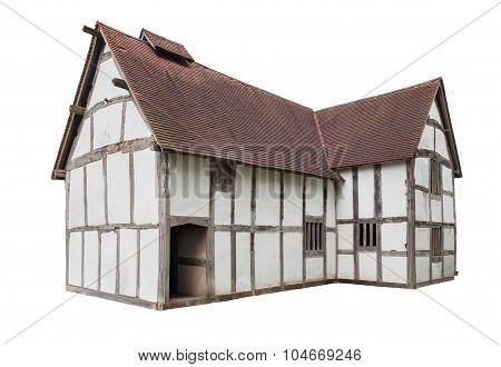 English Tudor House Cut-out