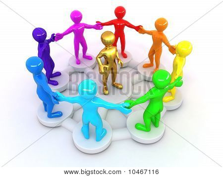 Conceptual Image Of Leadership