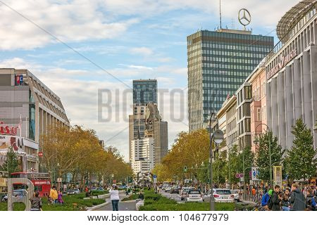 Wittenbergplatz Square, Berlin
