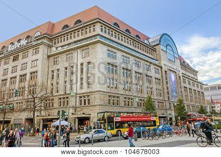 Shopping Mall Kadewe - Kaufhaus Des Westens, Berlin