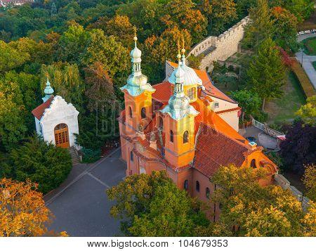 Church of Saint Vavrinec in Prague