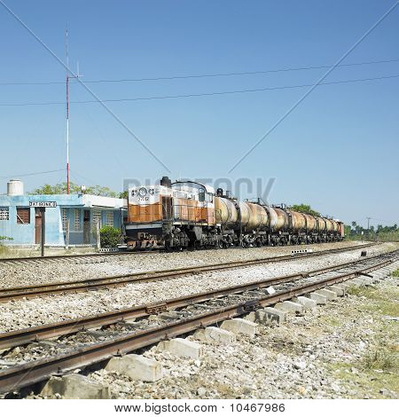 Goods Train, Jatibonico, Sancti Spíritus Province, Cuba